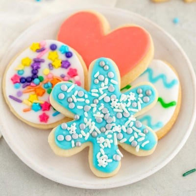 Easy Sugar Cookie Icing
