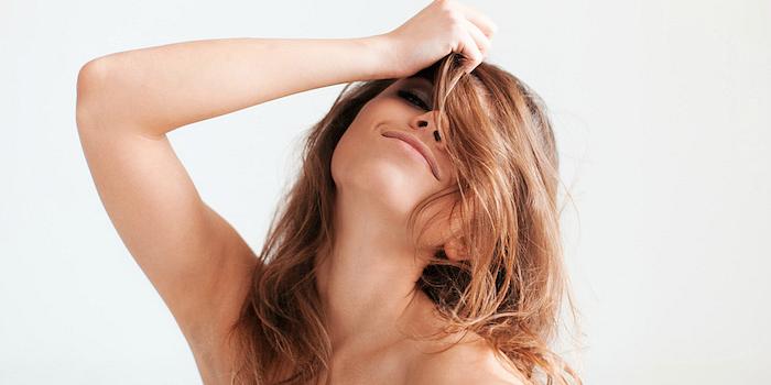 Shoulder up orgasm