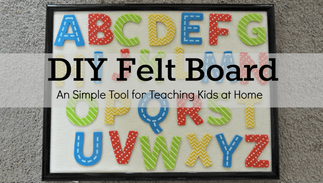 Felt Board DIY & Tutorial
