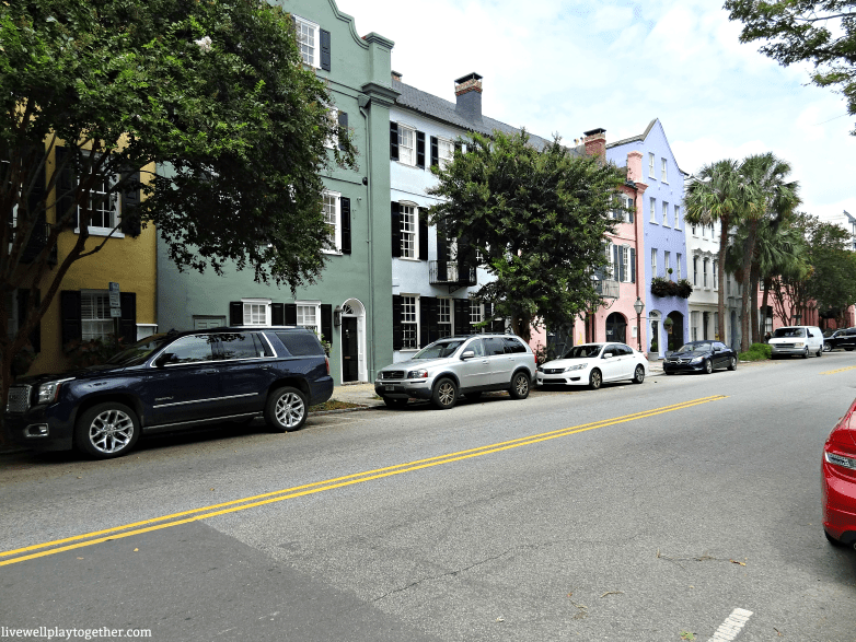 A Weekender's Travel Guide to Charleston, SC | Rainbow Row