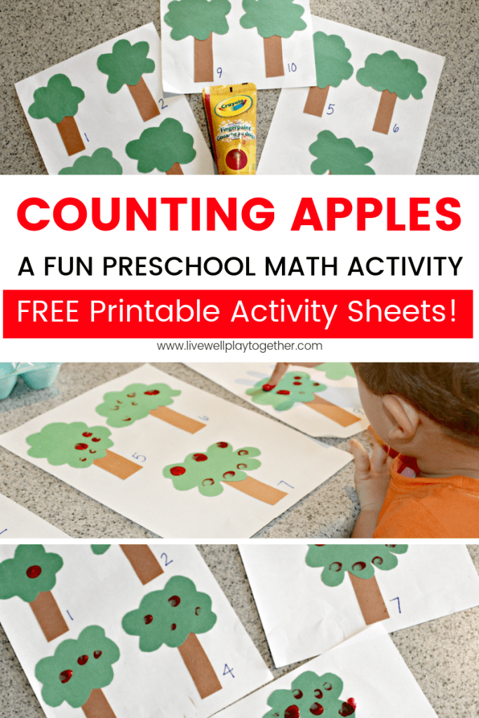 Apple Counting: A Fun Math Activity for Kids + FREE ...