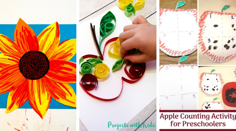10 Fun Easy Fall Crafts For Kids Live Well Play Together