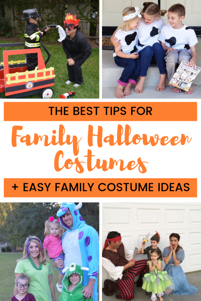 How To Family Halloween Costumes With Kids Family Costume