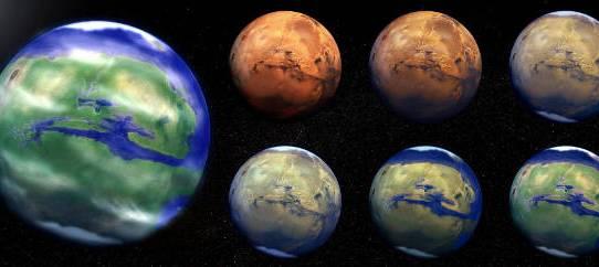 DARPA: Terraforming Mars