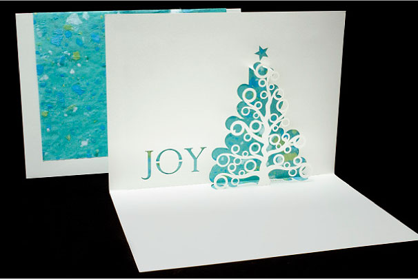 Joy Tree Origami Architecture Pop Up Cards By Live Your