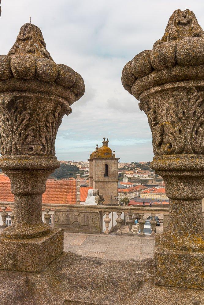 Porto cathedral landscape
