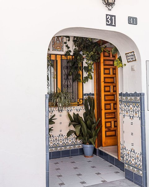 door in mijas spain