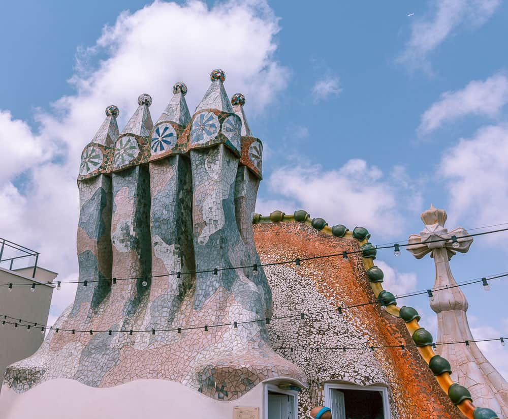 barcelona Casa Batlló-rooftop