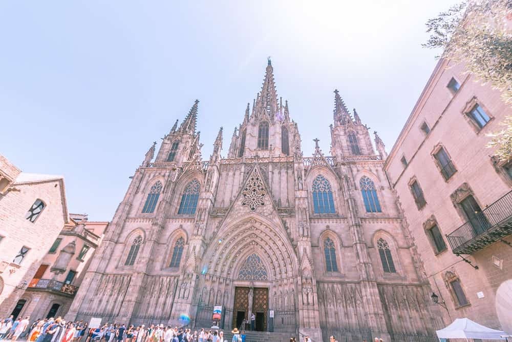 barcelona barri gotic cathedral