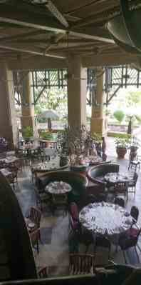 breakfast room at the kingdom hotel