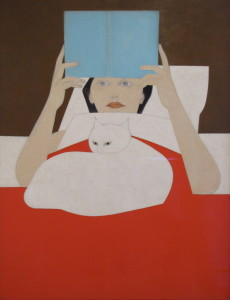 Will Barnet - Woman Reading
