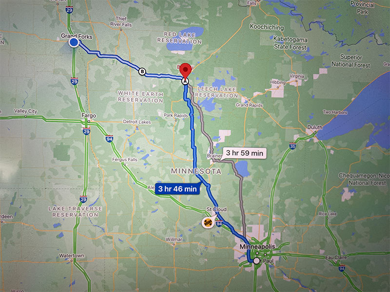 Day 16 MN TO ND