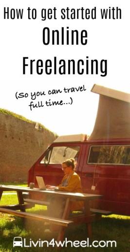 online freelancing pinterest