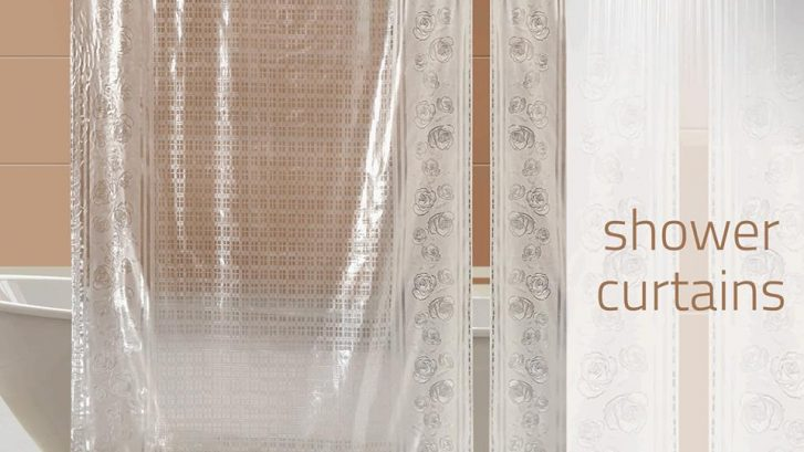 pvc shower curtains at wholesale price