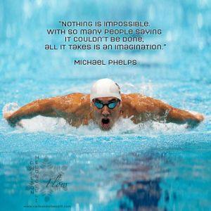 Michael Phelps: I magintation