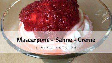 Read more about the article Mascarpone-Sahne-Creme
