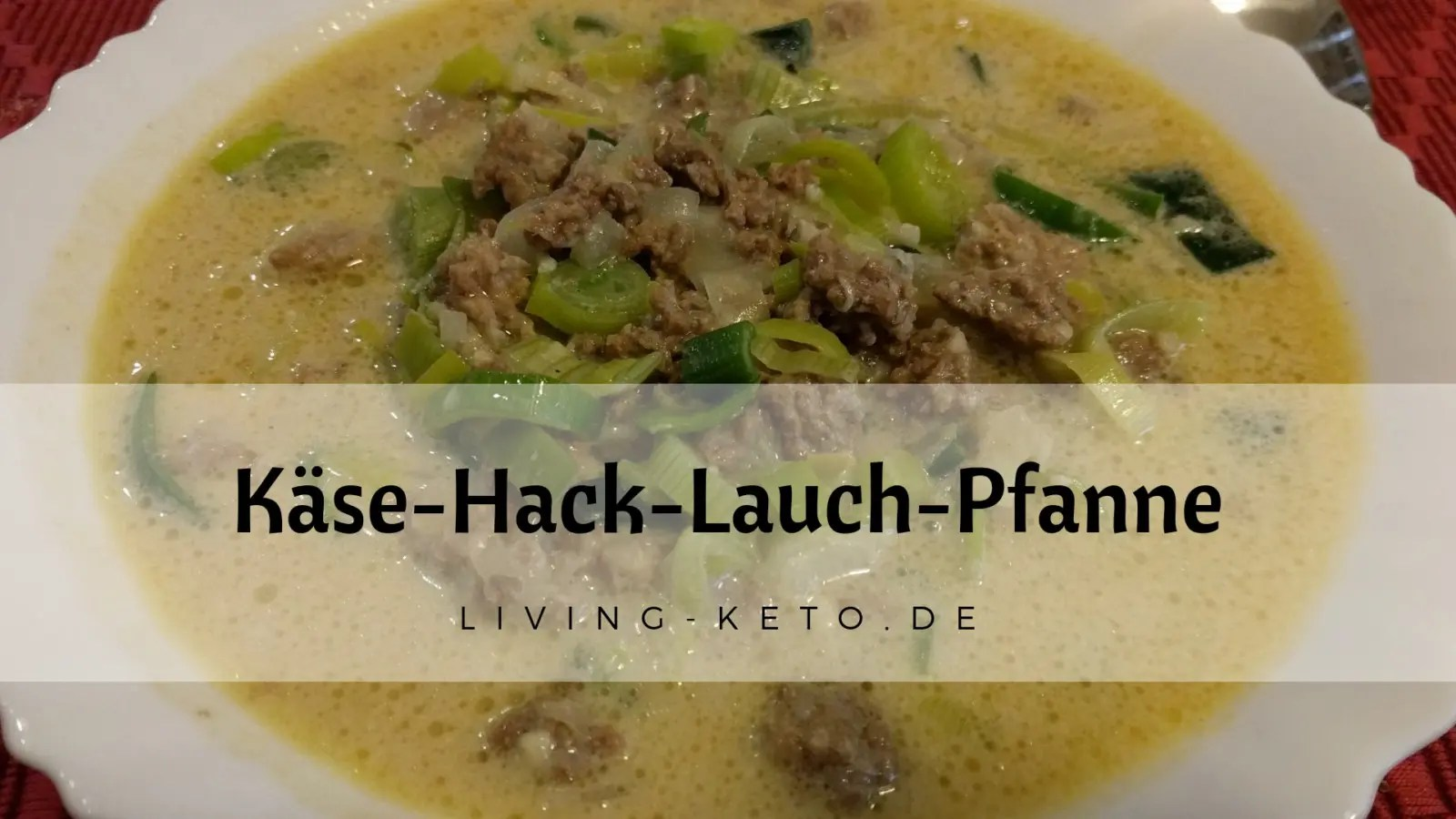Käse-Hack-Lauch-Suppe