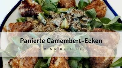 Panierte Camembert-Ecken – Fingerfood für die Party
