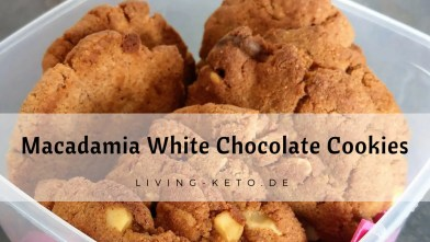 Ketogene Macadamia – White Chocolate – Cookies