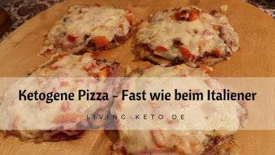 Read more about the article Ketogene Pizza – fast wie beim Italiener