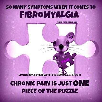 Pijn is slechts een van de vele ernstige fibro-symptomen.