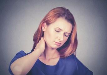 Douleur au cou avec la fibromyalgie