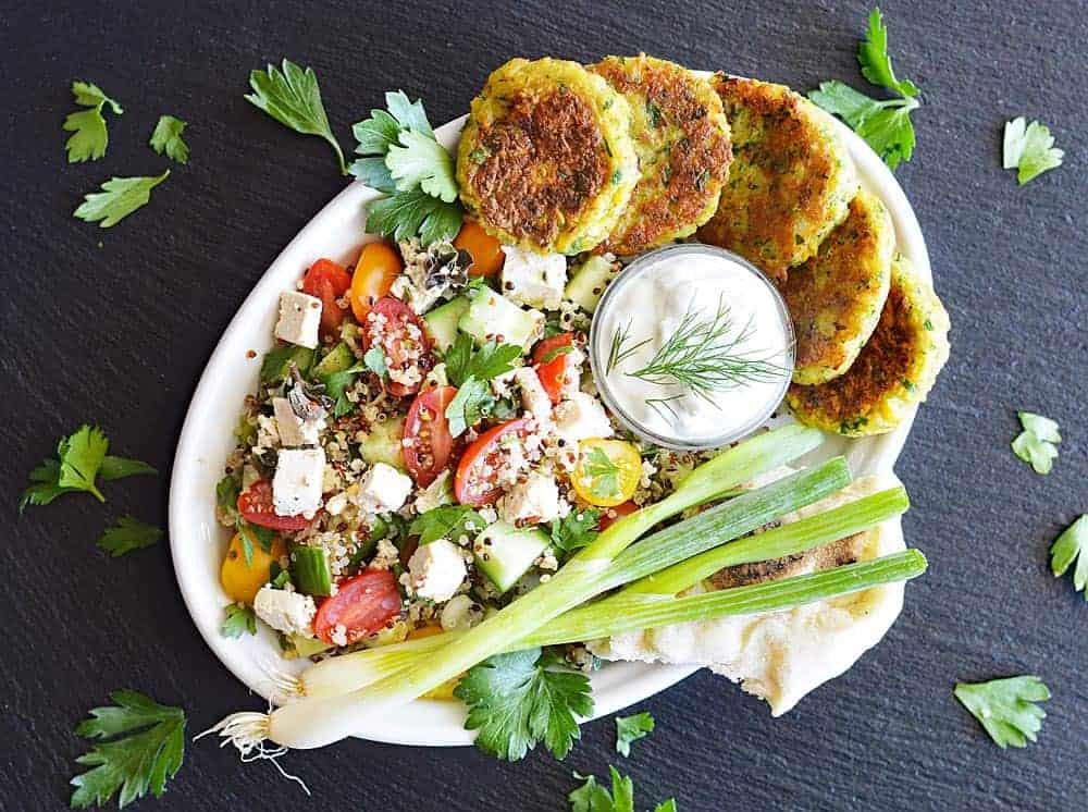 Easy Vegan Falafel