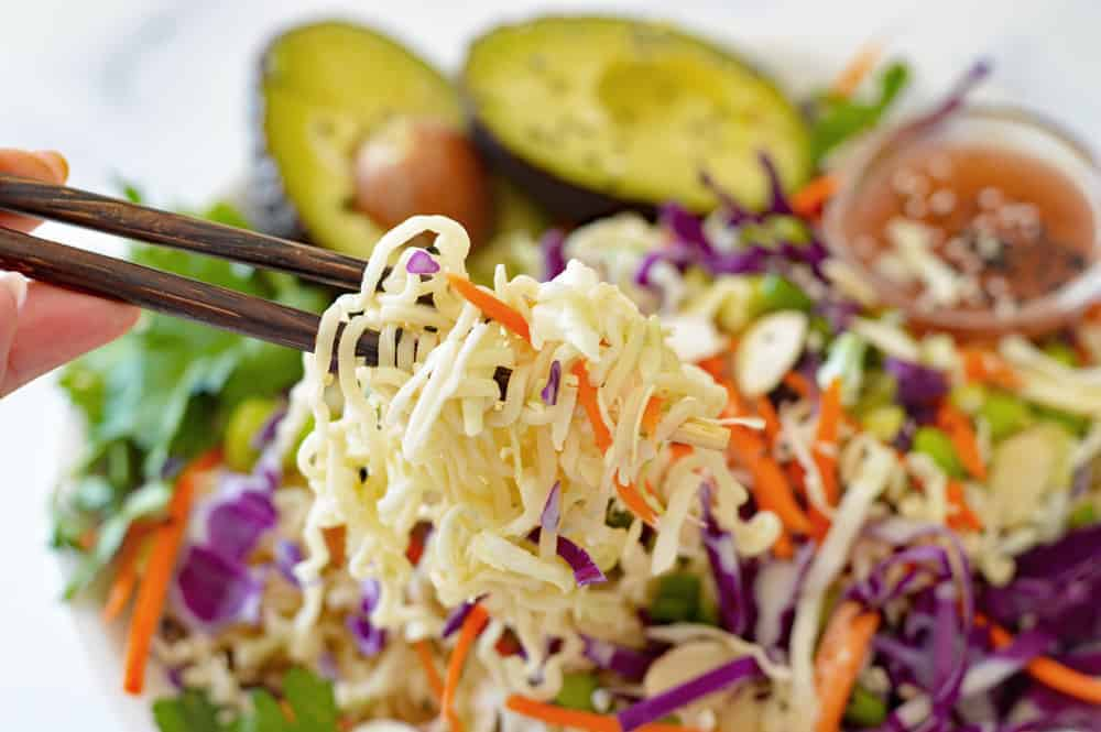 Asian Ramen Noodle Salad