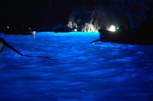 Grotto Azzurra, Capri by Jin Nakazawa