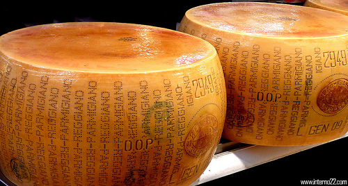 Parmigiano Reggiano cheese by Desiree Tonus