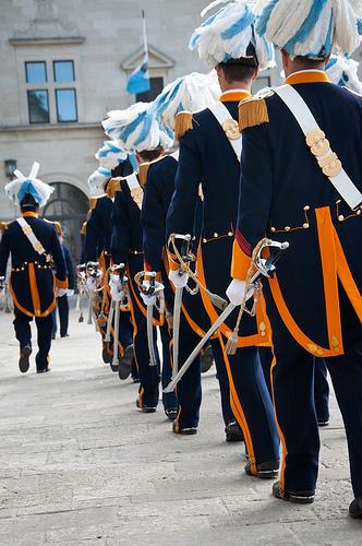 San Marino military by Giorgio Minguzzi