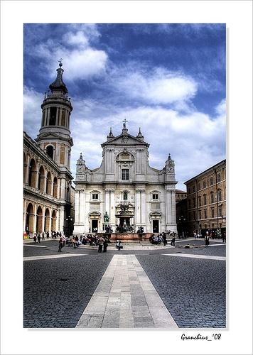 Basilica Santa Casa in Loreto by Carlo Granchius Bonini