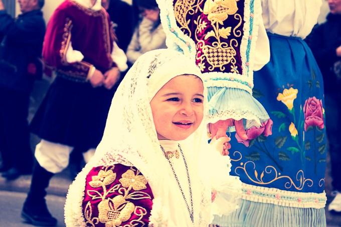 Traditional Sardinian dress