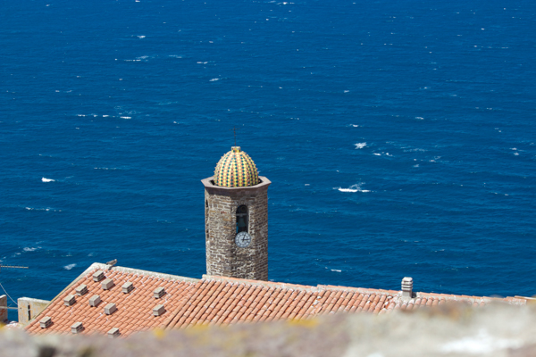 View from the fort in Castelsardo