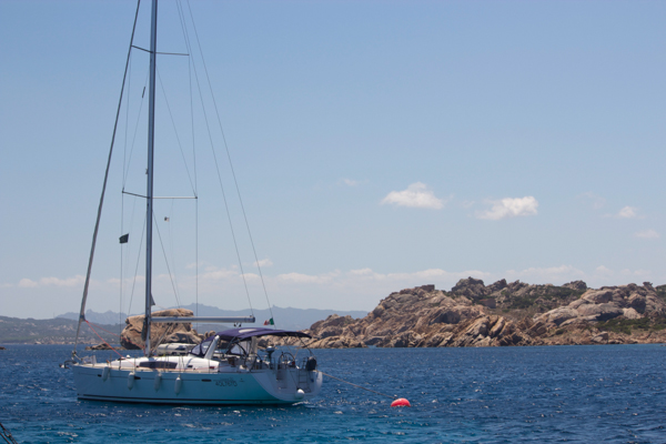 Boating in the Maddalena Islands