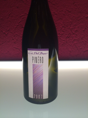 Pinéro, Sebino Rosso Pinot Nero IGT
