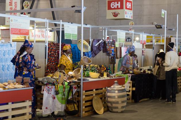 Senegalese exhibitors