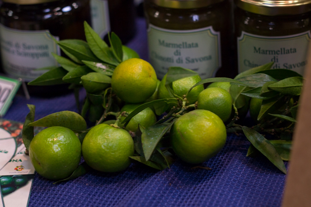 Chinotto, a citrus fruit originating from China, grown in Savona, Liguria since the 16th century