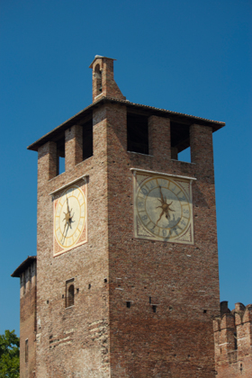 Clock tower of the castle
