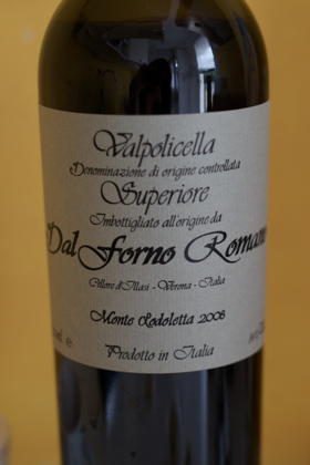 Dal Forno's sweet recioto wine