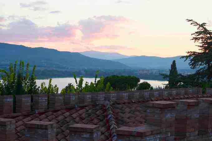 View from Borgo dei Conti