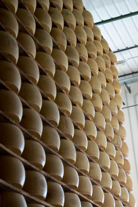 The wall of cheese