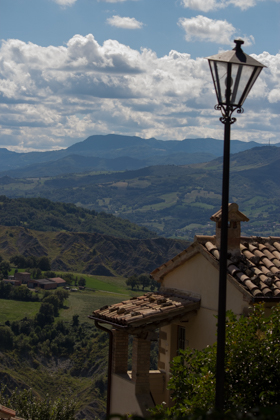 View over the Marecchia Valley