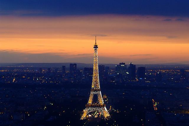 Eiffel Tower by Tijmen Gombert