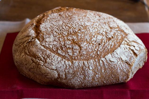 Pane nero (rye bread)