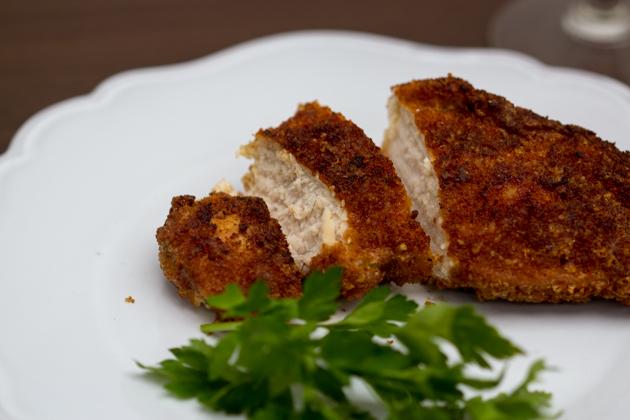 Cotoletta alla Parmigiana (chicken Parmesan)