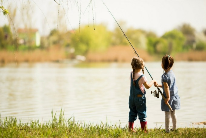 girls fishing copy