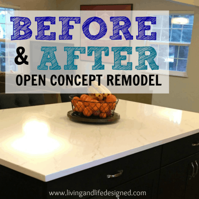 Open Concept Remodel – Before + After