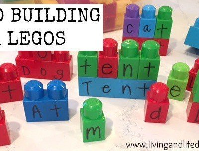 Word Building with Legos