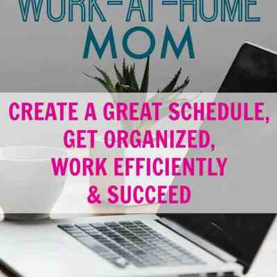 How to Succeed as a Work at Home Mom